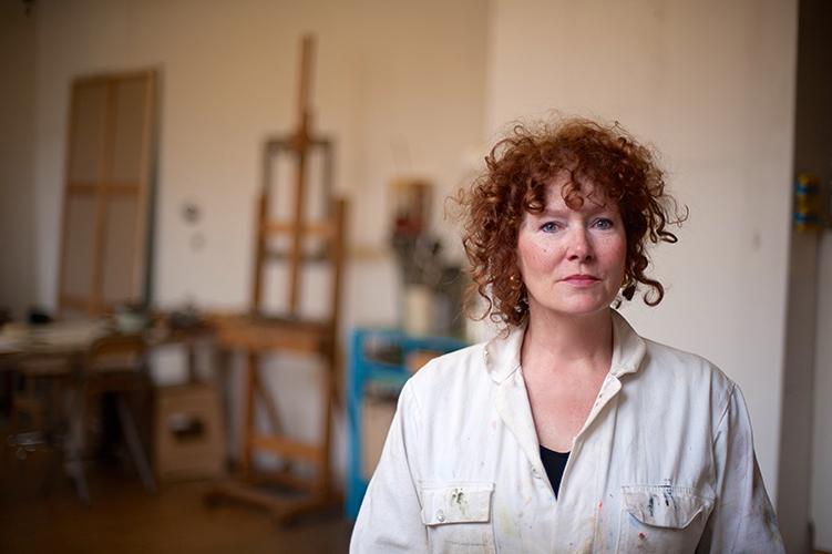 Portret Wilma Laarakker